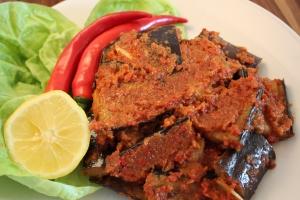 Spicy Chili Eggplant Terong Balado